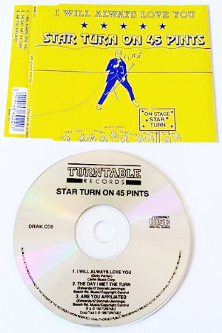 Star Turn On 45 Pints ‎- I Will Always Love You (CD Single) (G-VG/VG+)